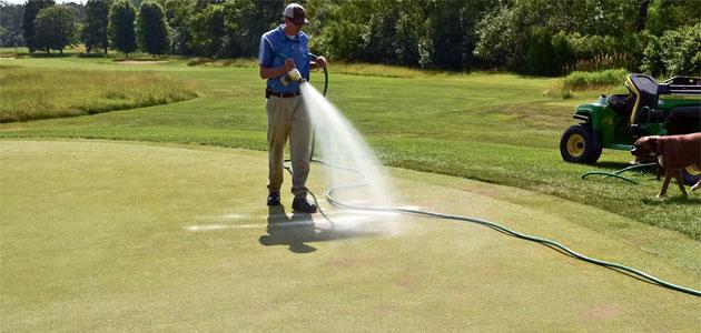 Localized Dry Spot Program