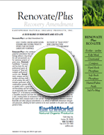Download the Renovate/Plus spec sheet
